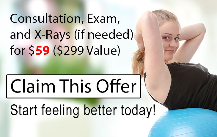 Online Special for Waterfront Chiropractic